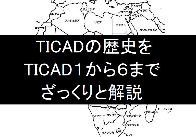 【3分で読める】TICADの歴史~TICAD I~IVで何が決められてきたか分かりやすく解説~